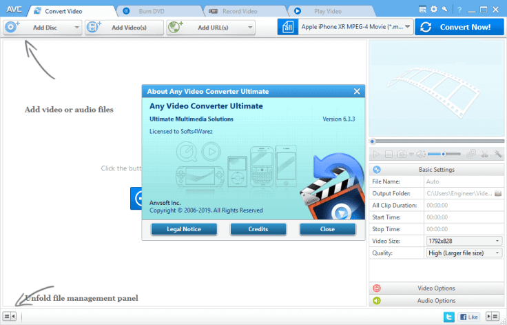 Any Video Converter Ultimate 6.3.3 with Keygen Free Download