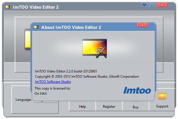 ImToo Video Editor 2 Crack + Keygen Full Latest Version