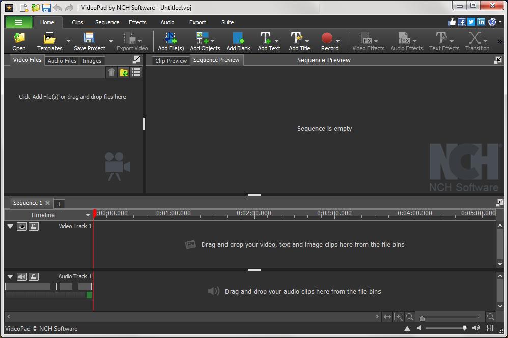 NCH VideoPad Video Editor Patch & Keygen Latest Free Download
