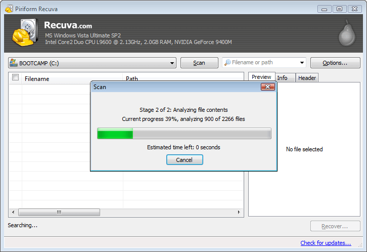 Piriform Recuva 1.52 License Key Download