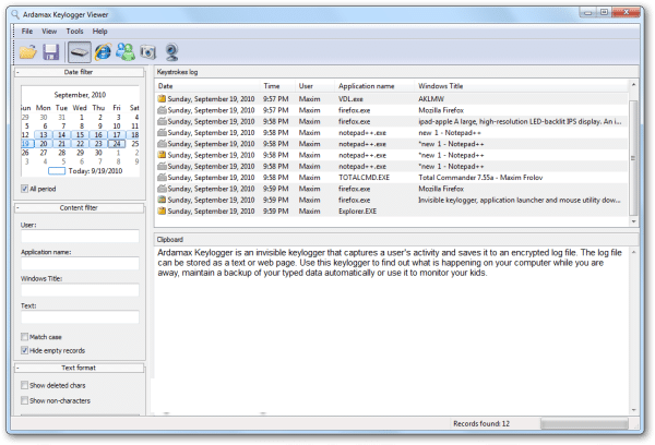 Ardamax Keylogger 5.2 Crack + Serial Key Full Download