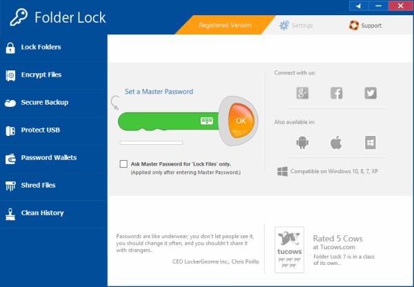 Folder Lock Crack & License Key Free Download
