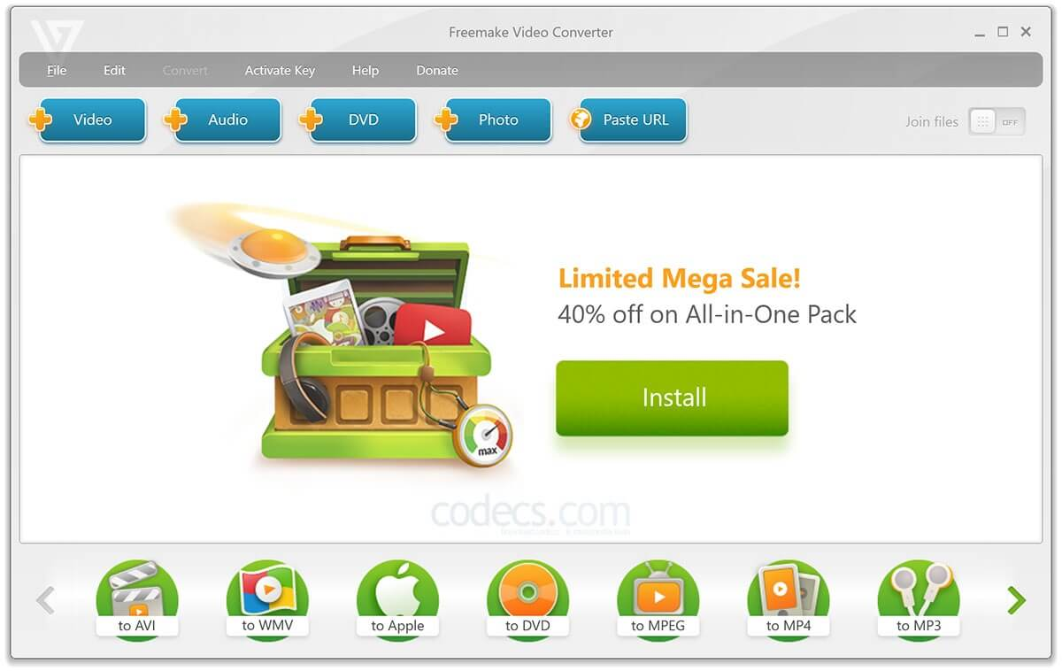 Freemake Video Converter 4.1.11.25 With Crack Full Version (2020)