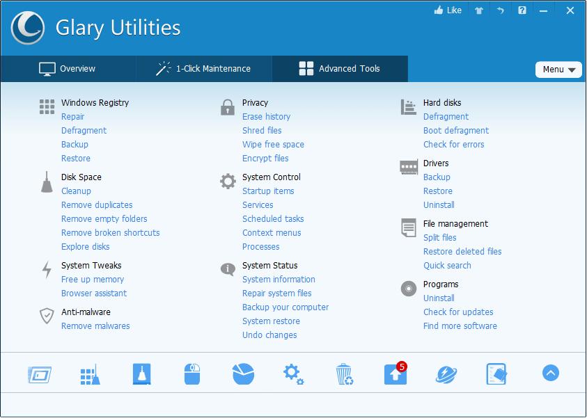 Glary Utilities Patch & Keygen Free Download