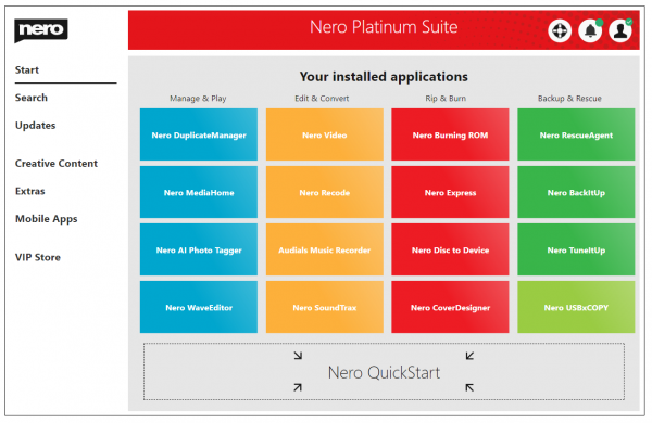 Nero Platinum Suite Keygen & Crack Free Download