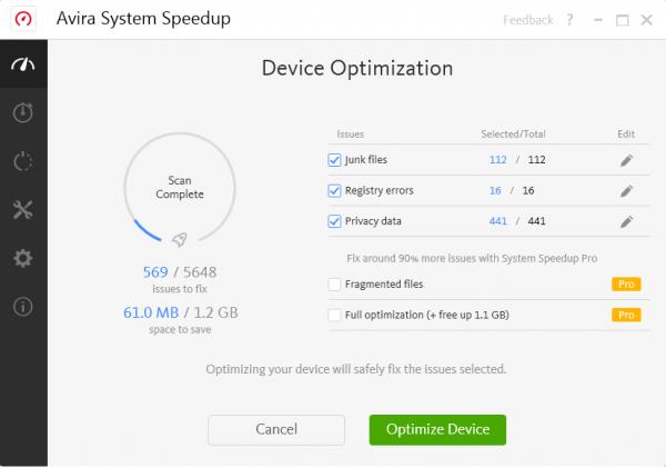 Avira System Speedup License Key & Activator Tested Full Free Download