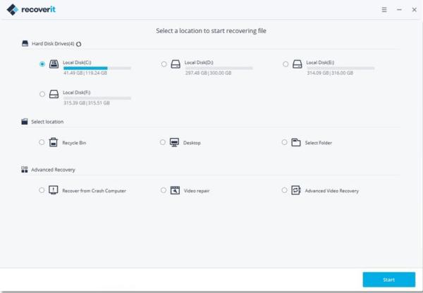 Wondershar Recoverit Activator & Serial Key Tested Free Download
