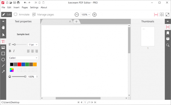 Icecream PDF Editor Pro Full Patch & Serial Key Tested Free Download