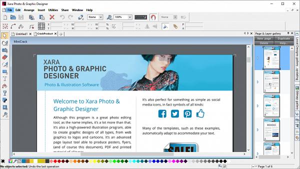 Xara Photo Graphic Designer Full Patch & Serial Key Free Download