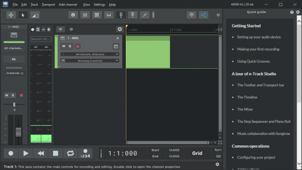 n Track Studio Suite Full Patch & Serial Key Tested Free Download
