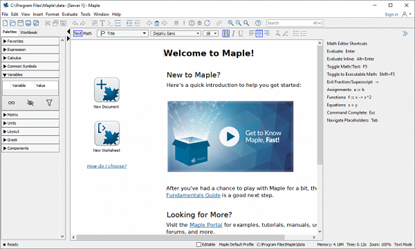 Maplesoft Maple Full Patch & Serial Key Tested Free Download