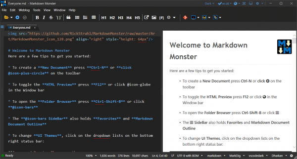 Markdown Monster Patch & Serial Key Tested Free Download