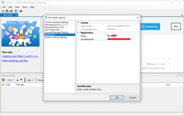 PVS Studio Keygen & Activator Latest Free Download