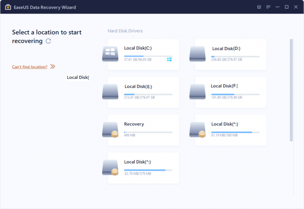 EaseUS Data Recovery Wizard Pro Patch & Serial Key Tested Free Download