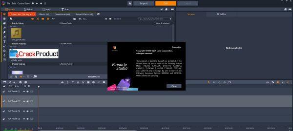Pinnacle Studio Patch & Serial Key Latest Free Download