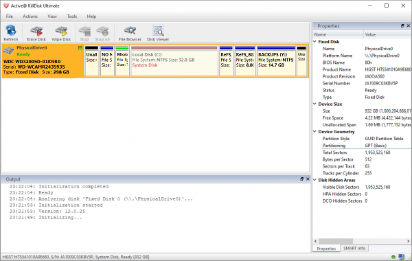 Active@ KillDisk Ultimate Patch & Serial Key Tested Free Download