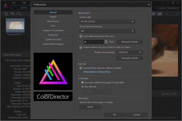 CyberLink ColorDirector Ultra Full Patch & Serial Key Latest Free Download